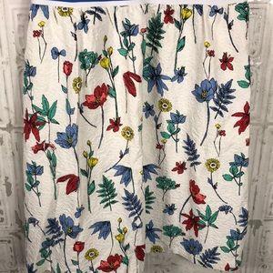 J. McLaughlin Dresses - J McLaughlin | striped and floral dress